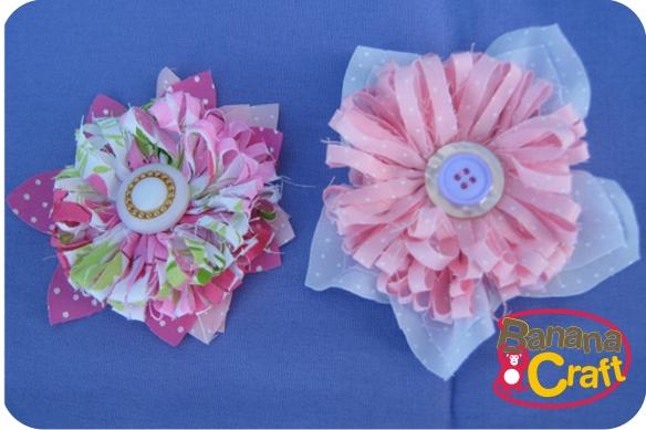 Tiara com flor de tecido – Tutorial de Sylvia Campos  e18433993c3
