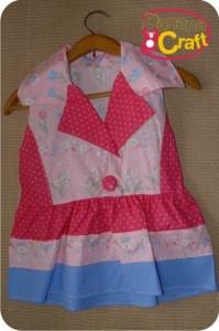 costura molde blusa rosa