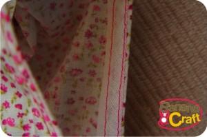 detalhe da cava da blusa