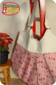 costura - molde de bolsa de tecido