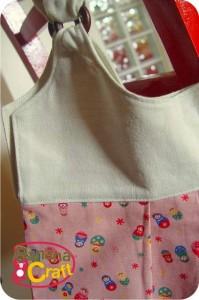 costura - molde de bolsa