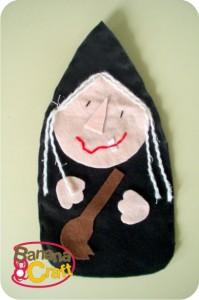 bruxa de feltro