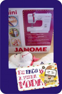 sew mini janome - máquina de costura