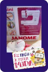 máquina de costura janome - sew mini