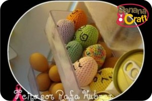 ovos de crochê