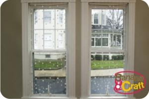cortina de neve - natal
