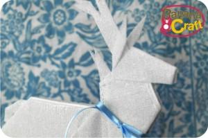 natal - rena de papel
