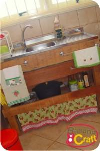 pia da cozinha