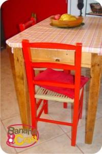 cadeira da cozinha