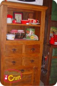 armário de madeira - cozinha