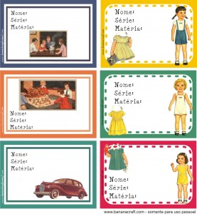 para imprimir - etiquetas para material escolar