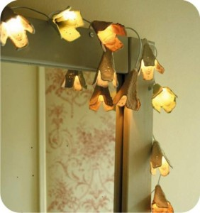 luzinhas - caixas de ovos