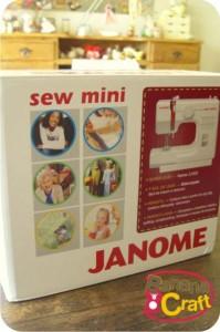 máquina de costura janome