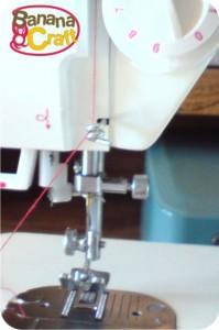 linha na máquiande costura singer