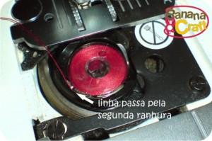 bobina da máquina de costura singer