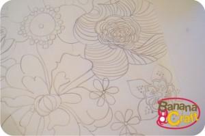 flores desenhadas a lápis