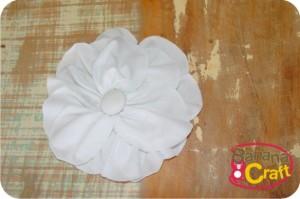 flor de tecido - tutorial