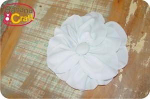 molde de flor de tecido
