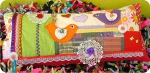 patchwork - travesseiro