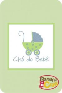 convite de chá do bebê