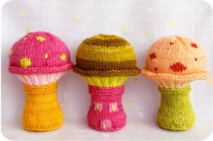 cogumelos de lã