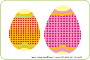 ovos de páscoa para imprimir