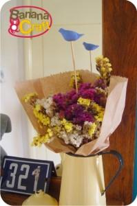 passarinho - flores