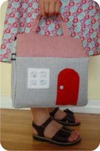 casa de tecido para brincar
