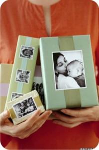 embalagens com fotos para o dia das mães