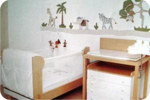 quarto de criança - safari