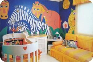 quarto de criança - decoração - selva