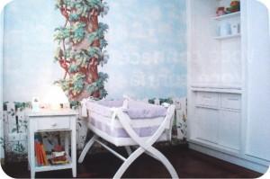 decoração - quarto infantil - berço