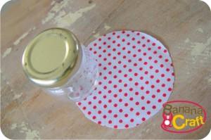 vidro - tecido- alfineteiro - reciclagem