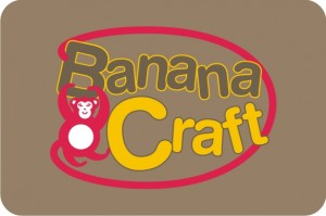 logotipo BananaCraft - macaco