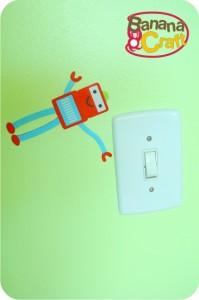 robot de ímã na parede com tinta magic - suvinil