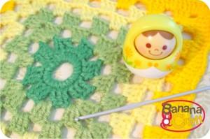 como fazer quadrados de crochê - passo a passo