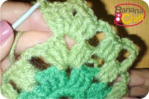passo a passo de quadrados de crochet