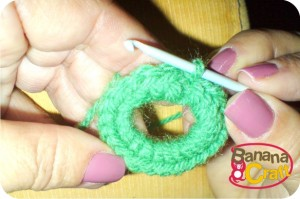 como fazer quadrados de crochê