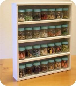 reciclagem - vidros de comidas de bebês