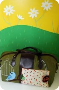 bolsa de maternidade customizada