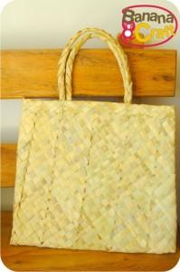 sacola de palha