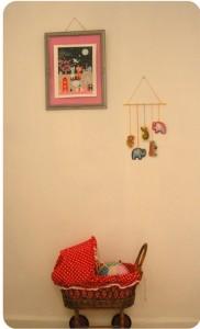 enfeite para quarto de bebê - parede