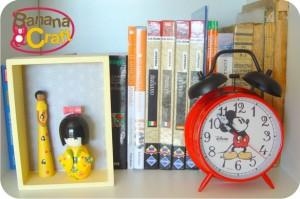 kokeshi - relógio do mickey