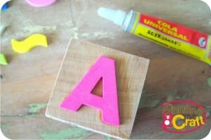 alfabeto - eva - carimbos