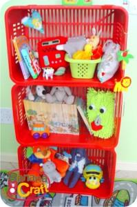 estante de brinquedos
