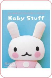 coelho - bebê - livro - costura