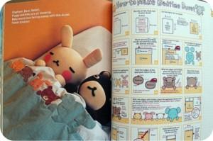 livro - bebê - manta - costura - coelho - urso