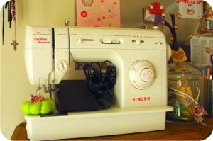máquina de costura Facilita Singer