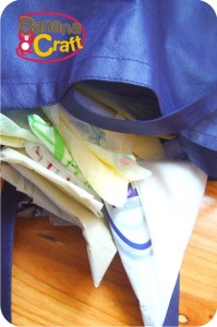 como guardar sacolas plásticas