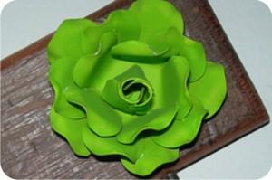 aluminiun flower
